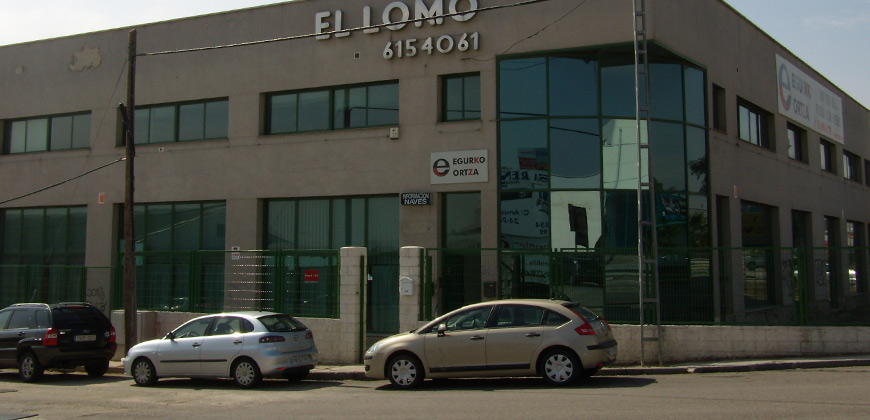 Alquiler Nave Industrial calle Amapola 2A